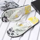 2021夏季新款拖鞋男防滑人字拖個性男士沙灘涼鞋潮流韓版耐磨夾腳 依凡卡時尚