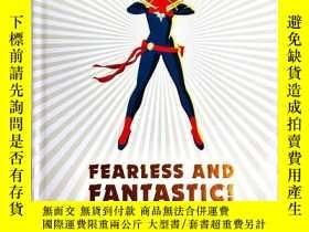 二手書博民逛書店原版罕見DK 漫威超級女英雄設定集百科 Marvel Fearless and Fantastic! 漫威無畏而神