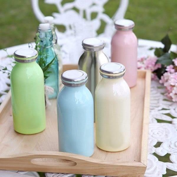 保溫瓶  日本熱銷不鏽鋼牛奶保溫瓶350ml 大容量 情人節禮物 水瓶 【KCW052】-收納女王
