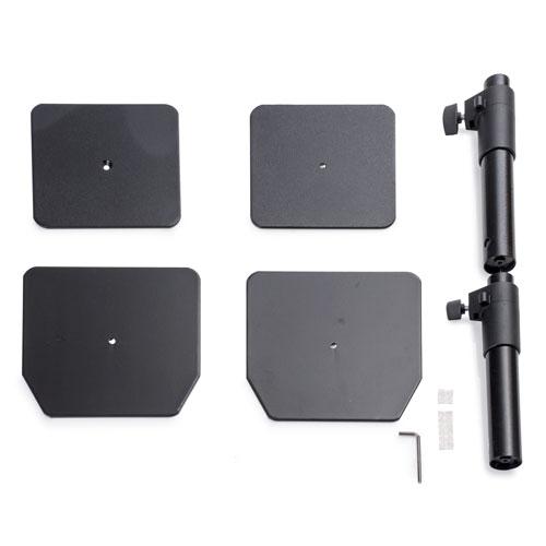"SKIER 金屬可調桌面音箱架 (一對) 可調高度30~45cm 適用監聽喇叭 (5""以下) 【公司貨】 APEX0121"