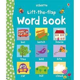 【幼兒認知翻翻書】 LIFT-THE-FLAP WORD BOOK /硬頁