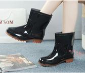 雨鞋 雨鞋男士春夏季防滑雨靴防水鞋釣魚鞋男款中短筒套鞋大碼膠鞋 阿薩布魯