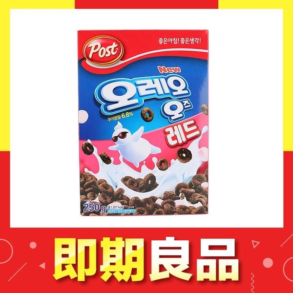 即期 韓國 OREO 巧克力棉花糖麥片250g 草莓味【庫奇小舖】