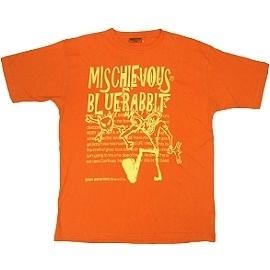 【波克貓哈日網】春夏短袖型男T恤◇日本品牌 mischievous◇《橘色圓領T》