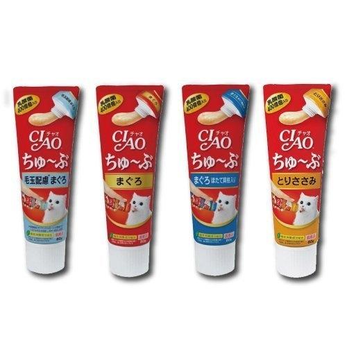 *KING*【單條】日本CIAO 啾嚕乳酸菌肉泥膏 80g/條 管狀好餵食
