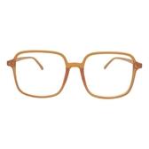 韓版ins大方框眼鏡框鉚釘素顏黑框平光鏡圓臉顯瘦近視眼鏡架男女