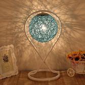 簡約現代創意麻球臥室床頭燈 時尚浪漫藝術裝飾調光 LR2832【VIKI菈菈】TW