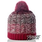 【PolarStar】女 漸層編織保暖帽...