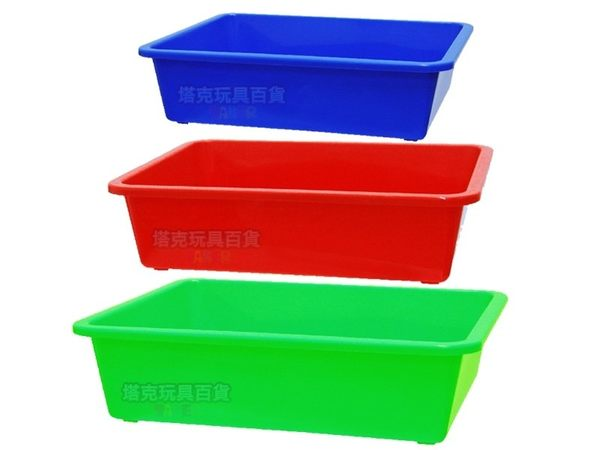公文籃 350密林 洗菜籃 塑膠籃 密盆 塑膠盆 平籃 方盆 深皿 深盆 MIT【塔克】