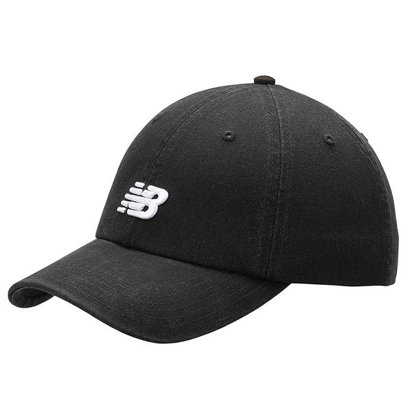 New balance 帽子 老帽 休閒 復古 電繡LOGO 可調式 黑【運動世界】LAH91014BK