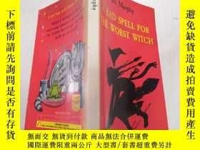 二手書博民逛書店A罕見Bad Spell for the Worst Witch:對最壞的巫婆來說是個壞兆頭.Y200392