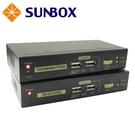 300米 VGA介面 KVM Cat5 延長器(SE302V) SUNBOX