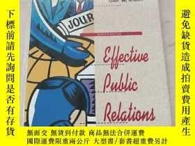 二手書博民逛書店Effective罕見Public Relations 7th