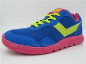 My Foot〔PONY﹞女款 SPLASH系列 用雙腳挑逗世界 透氧O2慢跑鞋〈藍色〉01543W1SF63DB