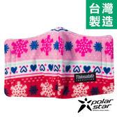 PolarStar 保暖口罩 台灣製造 『雪花愛心』輕量│保暖│透氣│刷毛│騎車 P14607