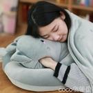 熱賣暖手抱枕 可愛貓午睡枕辦公室趴睡枕學生趴趴枕午休靠墊抱枕被子暖手小枕頭 coco