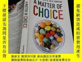 二手書博民逛書店a罕見matter of choice.;Y203909 a m
