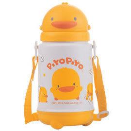『121婦嬰用品館』PiYo黃色小鴨-滑蓋造型保溫保冷水壺420cc