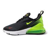 Nike AIR MAX 270 RF (GS) [AV5141-001] 女鞋 大童 休閒 透氣 氣墊 避震 黑綠