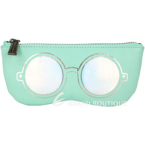 Rebecca Minkoff Mirrored Sunnies 眼鏡造型萬用包(薄荷綠) 1730423-A1