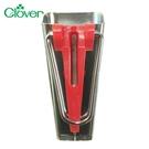又敗家@日本製造Clover可樂牌滾邊條製作滾邊器22-102紅色包邊器(18mm滾邊器)拼布洋裁縫紉包帶器