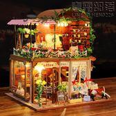 弘達diy小屋手工制作房子模型超大型豪華別墅公主房女生日禮物