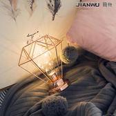少女心台燈房間布置網室裝飾燈拍照小夜燈生日禮物