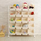 附輪無印風20 格活動玩具車玩具箱活動櫃收納箱收納櫃儲物櫃邊櫃BN118 澄境