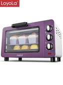Loyola/忠臣 LO-15L電烤箱家用烘焙多功能全自動小烤箱小型烤箱   蘑菇街小屋 ATF 220v