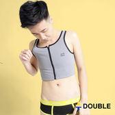 《Double束胸》AIRMAX 背網式束胸 拉鍊半身【D49】