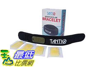 [美國直購] 驅蚊環 Mosquito Repellent Bracelet (4x refill) by TantiQ  Safe Natural Pest Control B01FGI5JVA
