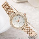 手鍊錶女士手錶女款時尚潮流女生手錶女學生韓版簡約防水休閒大氣