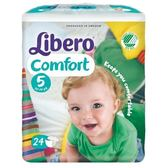 麗貝樂 Libero 嬰兒紙尿褲XL 5號-24片x8包[衛立兒生活館]