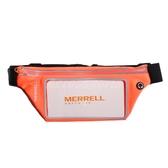 Merrell 腰包 手機運動腰包 橘 黑 運動包 包包 彈性材質【ACS】 ML1901T