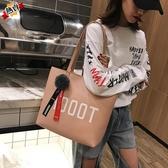大包包 包包女新品時尚單肩包女大包正韓手提包大容量托特包女士包 【快速出貨】