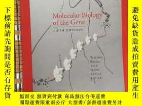 二手書博民逛書店3203罕見molecular biology of the g