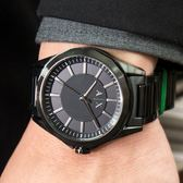 A/X Armani Exchange 亞曼尼 AX2620 簡約風格百搭腕錶/鋼黑44mm 熱賣中!