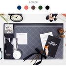 韓系格紋系列 滑鼠墊 名面夾 辦公室桌墊...