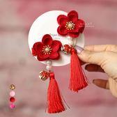新年中國風梅花流蘇頭飾髮夾 兒童髮飾 髮夾