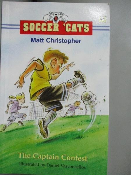 【書寶二手書T9/少年童書_LLQ】The Captain Contest_Christopher, Matt/ Pet