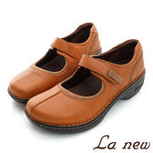 【La new outlet】雙密度PU休閒鞋 娃娃鞋-女218025304