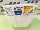【震撼精品百貨】Shin Kan Sen 新幹線~三麗鷗新幹線塑膠碗/美耐皿碗-白#76709