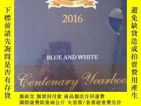 二手書博民逛書店Blue罕見& White Centenary Yearbook