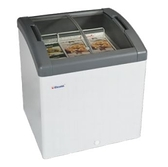 丹麥Elcold 冷凍櫃 圓弧形展示冰櫃【2.4尺 冰櫃】型號:FOCUS-73