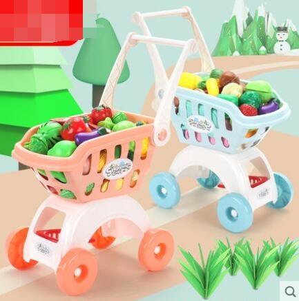 手小推車嬰兒過家家切水果