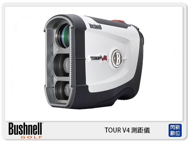 【分期0利率,免運費】Bushnell 倍視能 Tour V4 雷射測距望遠鏡 無坡度版 高爾夫 測距儀(公司貨)