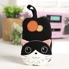 Kiro貓‧賓士貓 立體造型 拉鏈小物收納/鑰匙零錢包【221117】