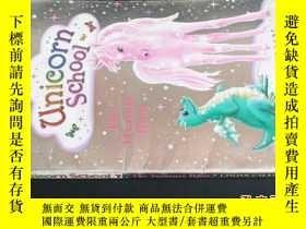 二手書博民逛書店unicorn罕見school the treasure hun