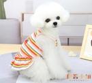 寵物狗狗貓咪衣服純棉背心裙子小型犬夏季薄款【倪醬小鋪】