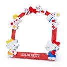 【震撼精品百貨】Hello Kitty_凱蒂貓~Sanrio KITTY 造型2用鏡-紅#18367